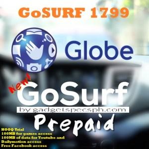 GoSURF 1799 – Gadget Specs PH