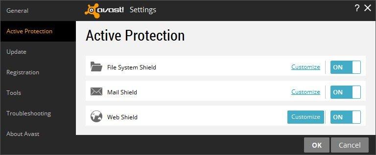 Block a website using avast internet security