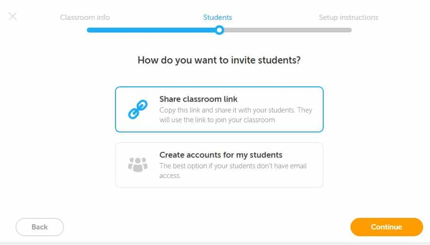 Duolingo classroom