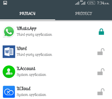 How to Lock WhatsApp Using AppLock Android App