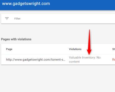 Remove Google AdSense