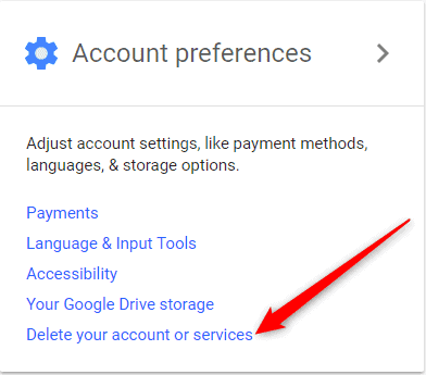 Delete Google Account or Remove Google Account