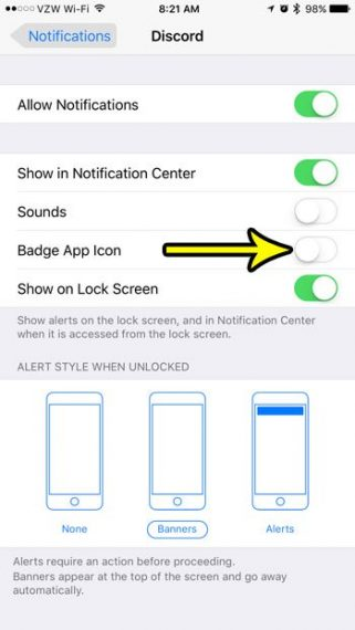 How to Turn Off/On Badge App icon on iPhone 7