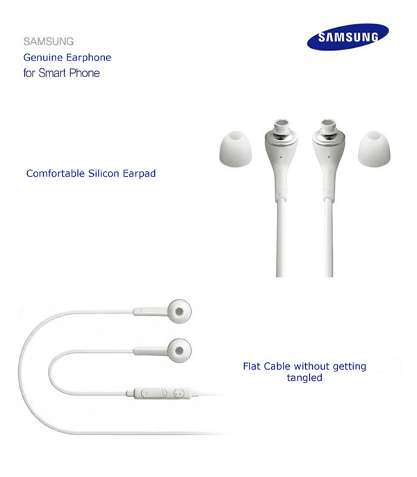 Genuine Samsung Galaxy S4/5 Tab Note Earphone Earset