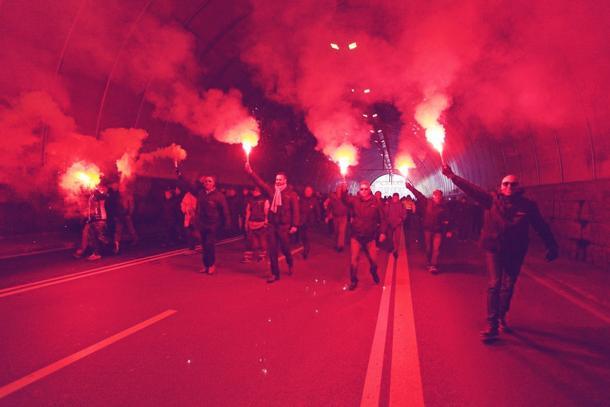 Genova ancora paralizzata, l'incubo della Grecia fra noi