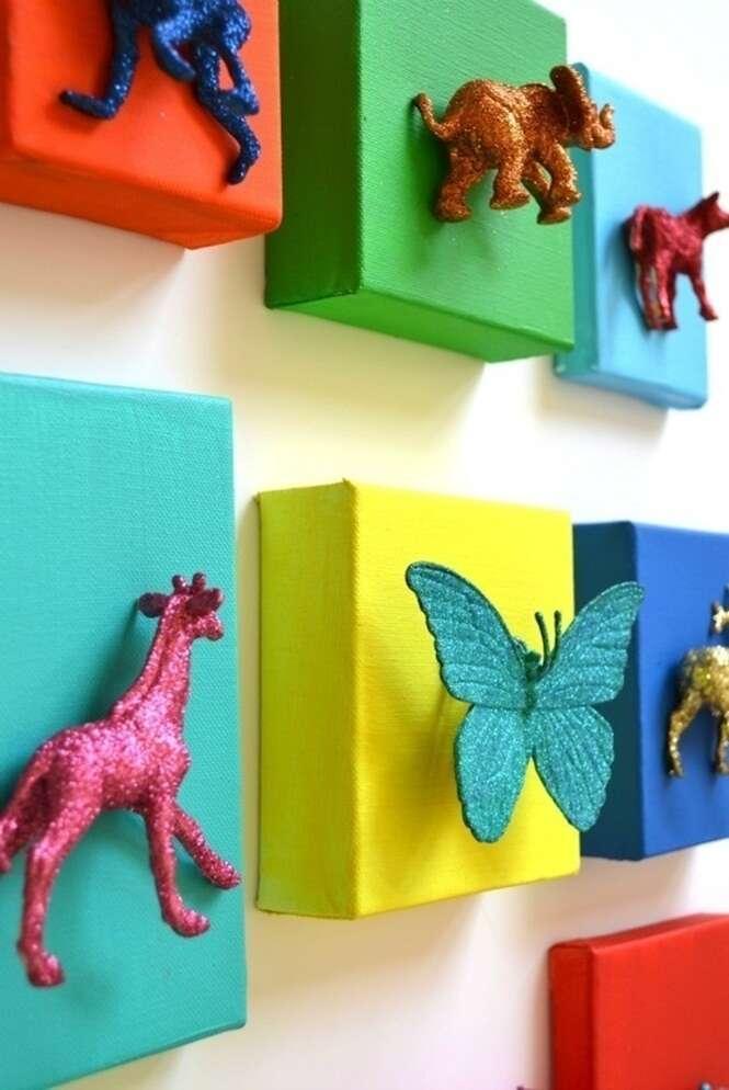 20 formas de reutilizar brinquedos velhos na decorao da casa