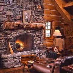 How To Decorate A Living Room With Wood Burning Stove Directions Theater 17 Lareiras Rústicas Para Casas De Campo