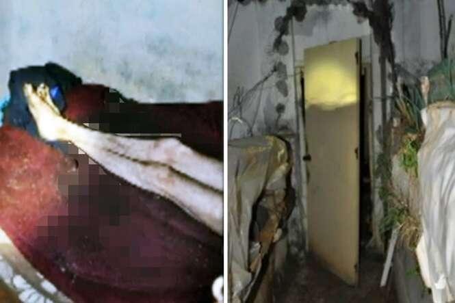 Homem passa 20 anos preso em sala imunda após irmãos o trancarem dentro de casa