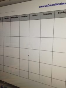 Free Nanny Weekly Meal Plan Template