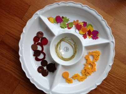 Fall Inspired Crafts For Nannies