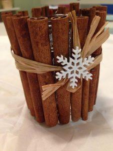 Christmas Crafts For Nannies Using Cinnamon Sticks