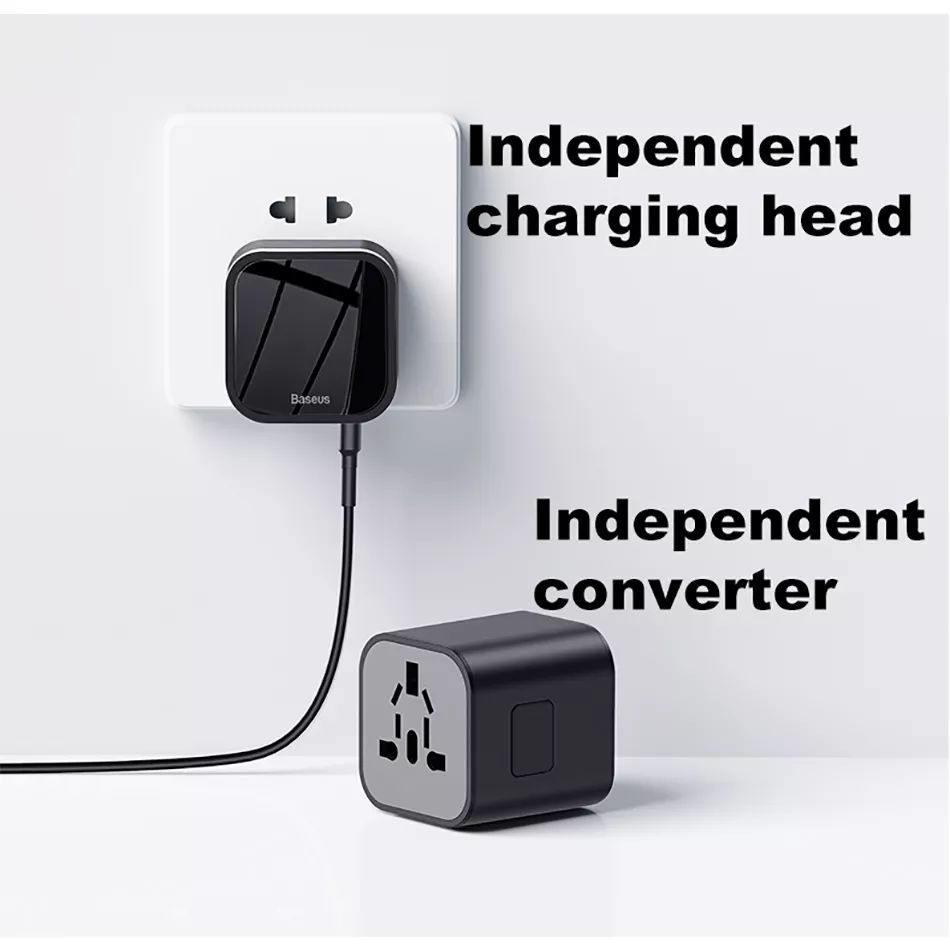 Baseus 2 In 1 Global Conversion Charger 18w (8)