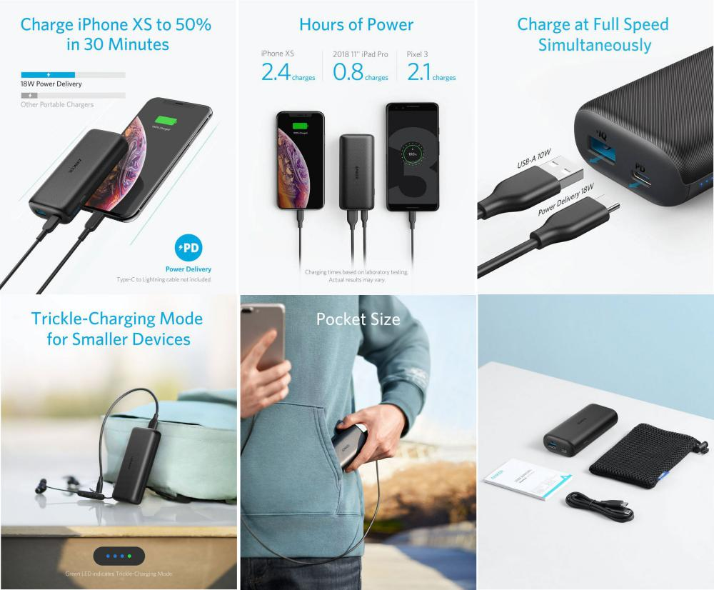 Anker Powercore 10000 Pd Power Bank (2)