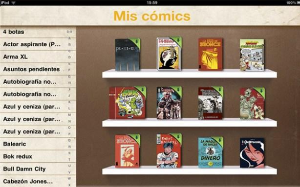 Catálogo de tebeos de Koomic.com