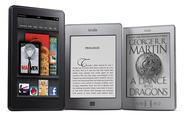 KIndle Fire, nuevo Kindle y Kindle Touch