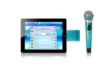App de karaoke Spotlight de Disney y micrófono inalámbrico