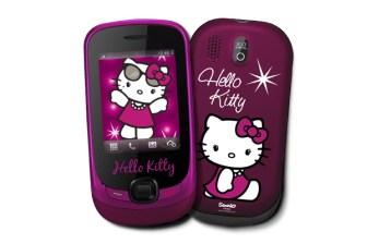 Teléfono móvil Alcatel edición Hello Kitty
