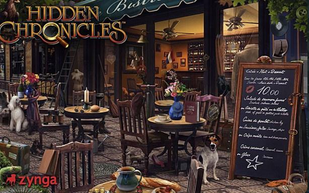 Hidden Chronicles Bistro
