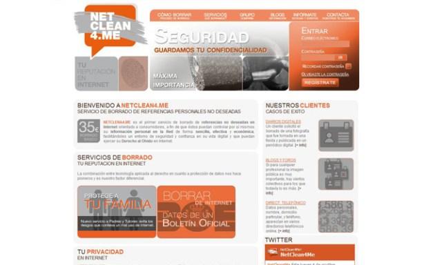 Netclean4.me ofrece el borrado de referencias personales en Internet