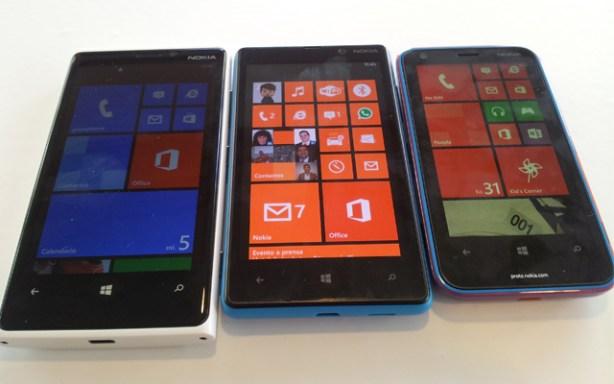 Los nuevos Nokia Lumia 920, 820 y 620 con Windows Phone 8