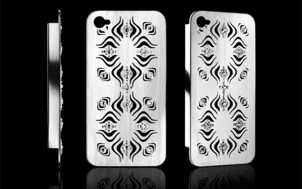 Funda para iPhone 5 de Umberto Bellini con cristales de Swarovski