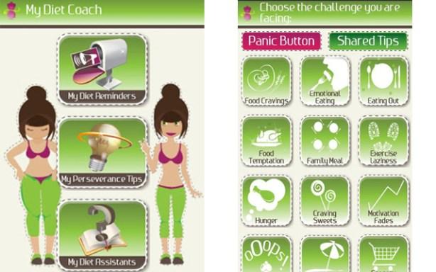 My Diet Coach es una app de dieta para el móvil.