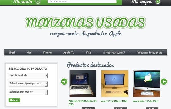 Manzanasusadas.com, sitio de compraventa de productos Apple