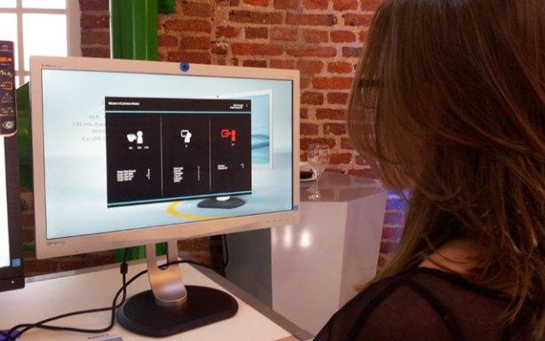 El Philips ErgoSensor detecta el ángulo de la cabeza