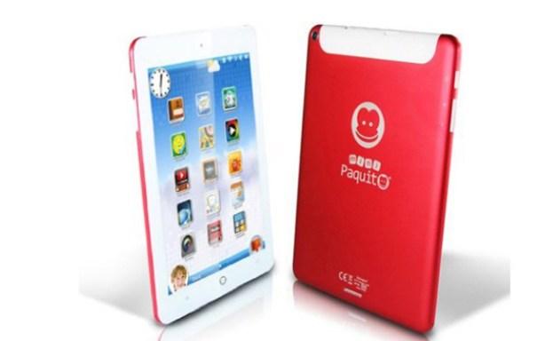 """Paquito Mini, el tablet de 8"""" de Imaginarium"""