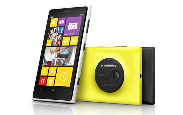 Nokia Lumia 1020 con tecnología PureView
