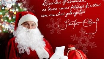 Santa Claus nos dedica una imagen de MyStarAutograph