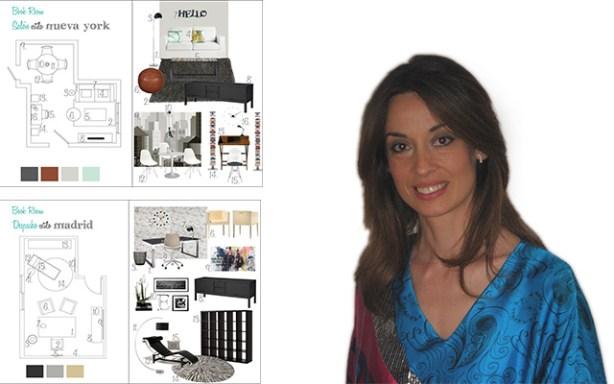 Marisa Ridaura fundó City Estudio que ofrece proyectos de interiorismo y de decoración online