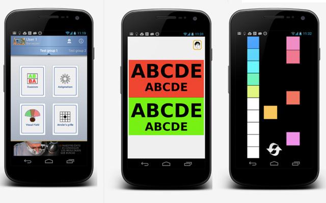 Barraquer visio test app