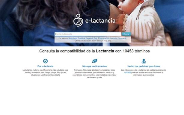 e-lactancia, la web de consulta de la compatibilidad de medicamentos y lactancia