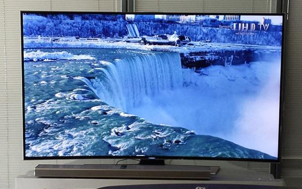 La serie de televisores curvos HU 8500 de Samsung está  disponibles en 55  y 65 pulgadas.