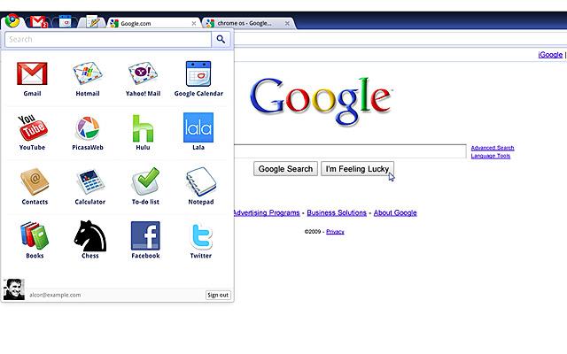 Chrome sistema operativo