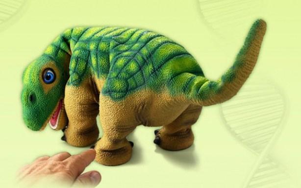 El robot dinosaurio Pleo de Innvo Labs.