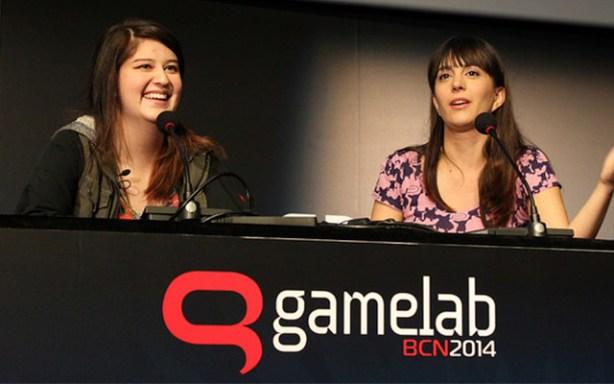 Kim Swift entrevistada por Gina Tost en Gamelab 2014