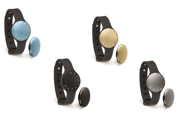 El wearable Shine de Misfit está disponible en cuatro colores