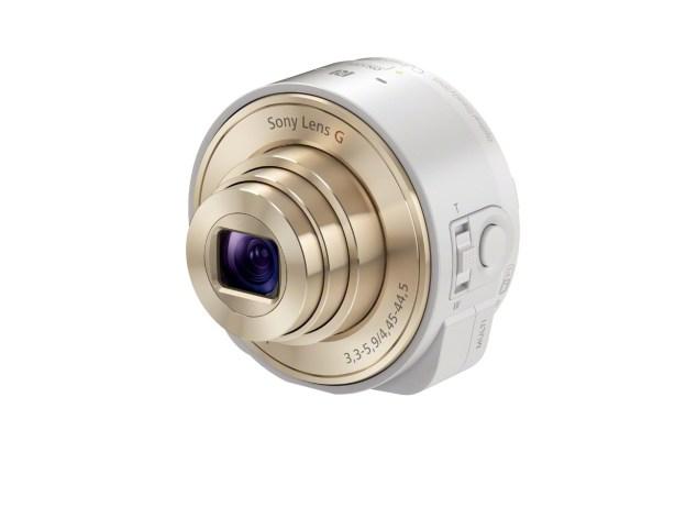 Sony QX10, una cámara estilo lente200