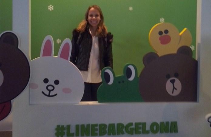 Adriana Arias, directora de Marketing de LINE