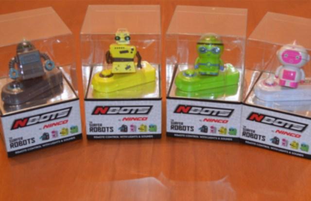Nbots, los mini-robots de Ninco