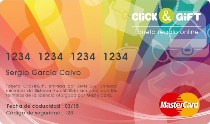 Click&Gift es una tarjeta regalo online y multimarca
