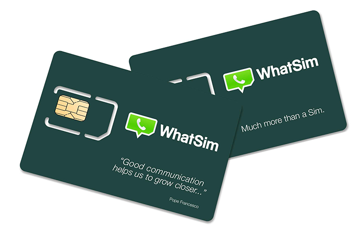 WhatSim, una SIM que te permitirá usar WhatsApp por casi todo el mundo
