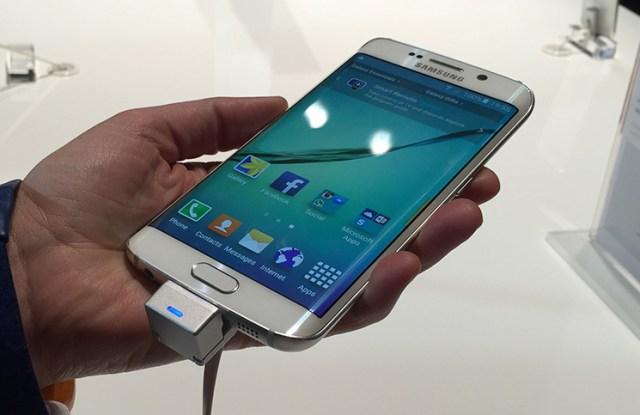 La pantalla curva del Samsung Galaxy S6 edge