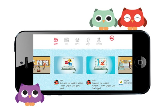 SamiApp videoplayer para niños