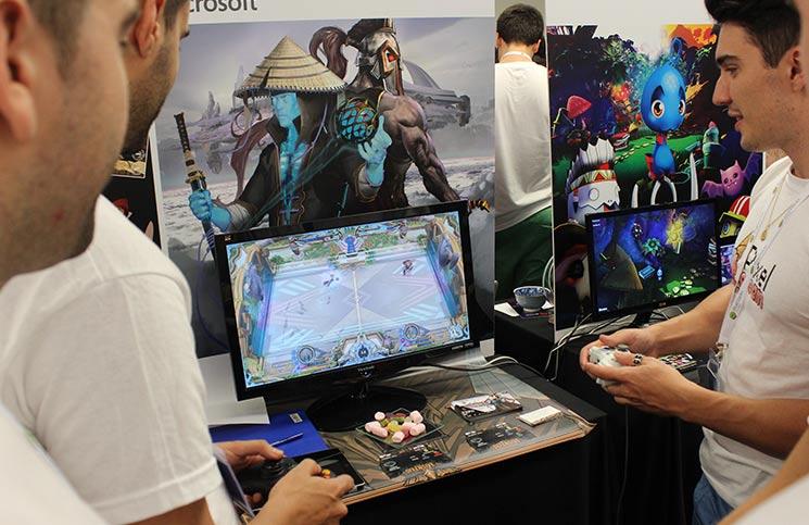 Gamelab 2016 pantalla