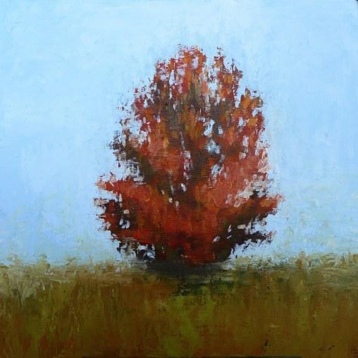 Kendra Gadzala: Tree in fall