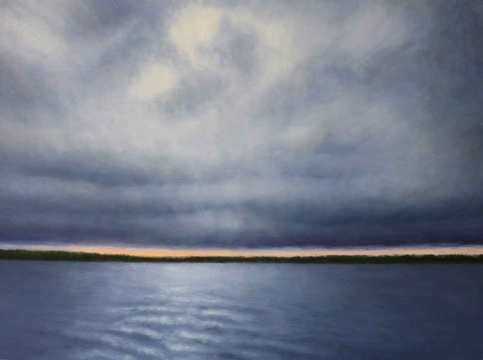 Kendra Gadzala Dark clouds over water 1