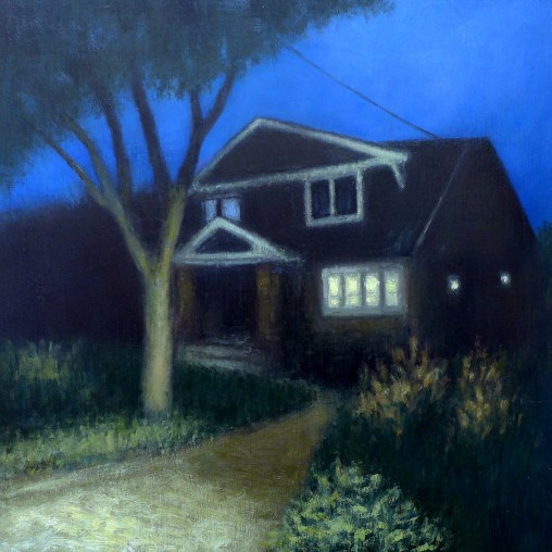 house at night 1